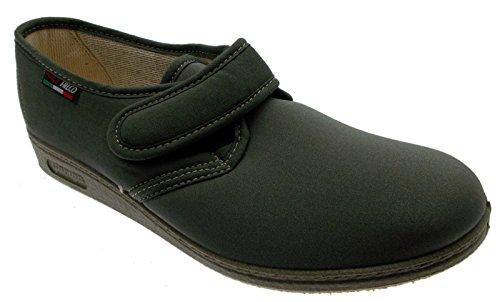 chausson Velcro coton stretch safari vert physiothérapie extra large de l'article 193