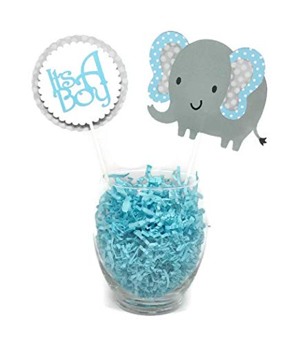 Amazon.com Baby Its a Boy Elephant Baby Shower Decorations