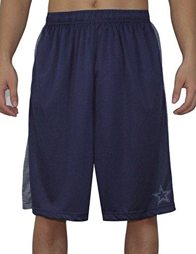 Mens Dri-Fit Sport Shorts - DAL Cowboys S Dark Blue (Dallas Cowboys Shorts)