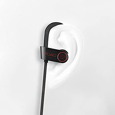 POAO Baisee Bluetooth V4.1 Headphones, Magic buds Wireless Earphone Sport Stereo In-Ear Earbuds -IPX4 Sweat Proof -Premium Sound with Bass,for iPhone, Android (New Black)