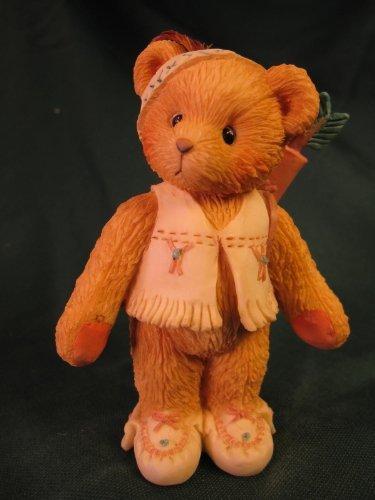 Wyatt Collection - 1 X Cherished Teddies.......... Wyatt... I'm Called Little Runnig Bear
