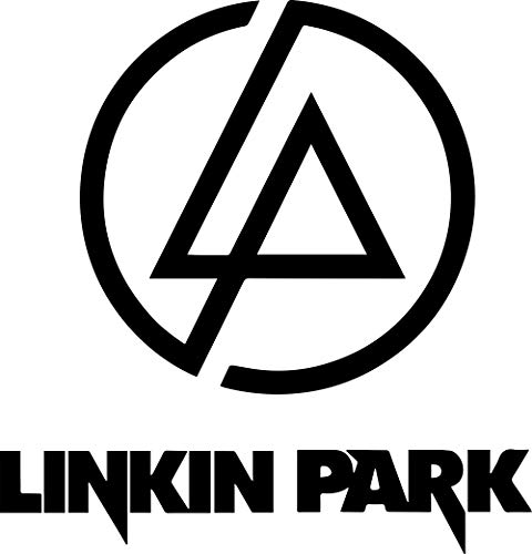 ANGDEST Linkin Park Logo Icon (Black) - Premium Quality - Waterproof Vinyl Decal Stickers for Laptop Phone Helmet Car Window Bumper Mug Tuber Cup Door Wall Decoration
