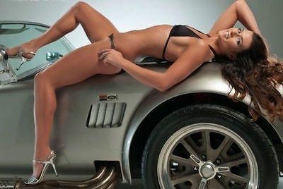 Shelby Aluminum Block (1966 Ford f gp Shelby Cobra Race GT Sport Car 1 24 A T 1967 12 1965 40 Pre Built 18 Diecast 25 Model Art)