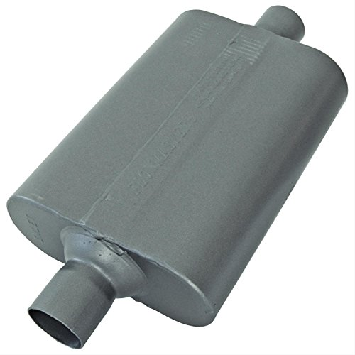 Flowmaster 842440 40 Delta Muffler 409S - 2.25 Center IN / 2.25 Center OUT - Aggressive Sound