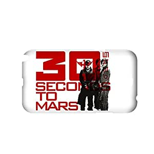 Generic Quilted Back Phone Case For Girls Custom Design With 30 Seconds To Mars For Samsung Galaxy Note2 Full Body Choose Design 1-1