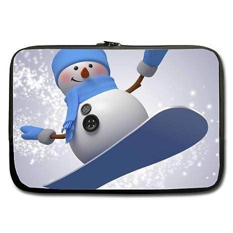 Muñeco de nieve esquí mejor precio 13 inch Laptop/Ordenador portátil/ portátil (neopreno