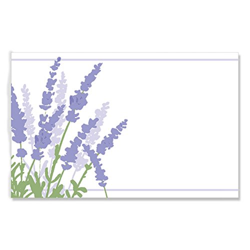 Lavender Fields Enclosure Cards / Gift Tags - 3 1/2 x 2 1/4in. (50) ()