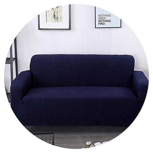 Universal Size Stretch Sofa Cover Printing Flower Sofa Covers slipcovers Couch Cover Furniture,Navy,2 Seat 145-185cm