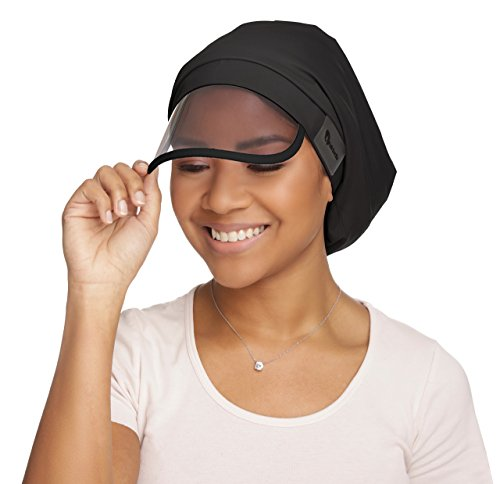 Microfiber Rain Hat (Hairbrella Satin-Lined Women's Rain Hats w/Collapsible Built-In Pocket)