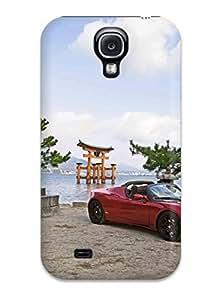 ZippyDoritEduard Perfect Tpu Case For Galaxy S4/ Anti-scratch Protector Case (tesla Roadster 36)