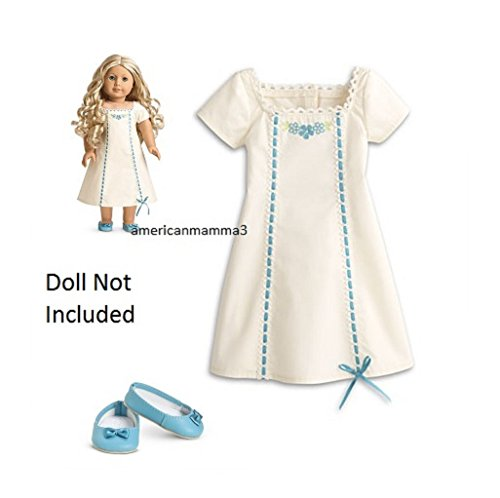 American Girl Caroline - Caroline's Nightgown - Caroline Slipper