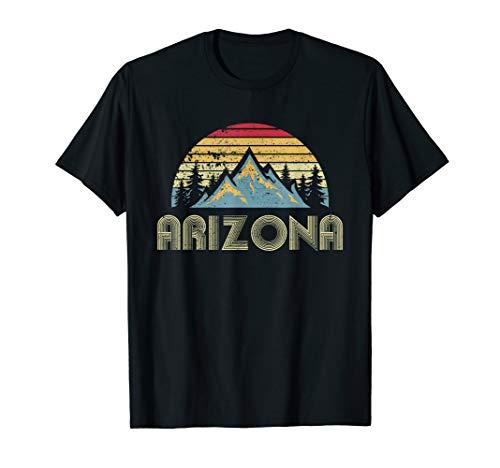 Arizona Tee - Retro Vintage Mountains Nature Hiking T - Vintage Az T-shirt