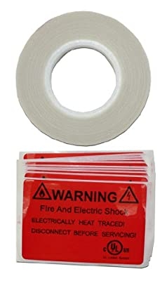 King SRK03 66-Feet Cold Weather and Pipe Heating Cable Application Tape