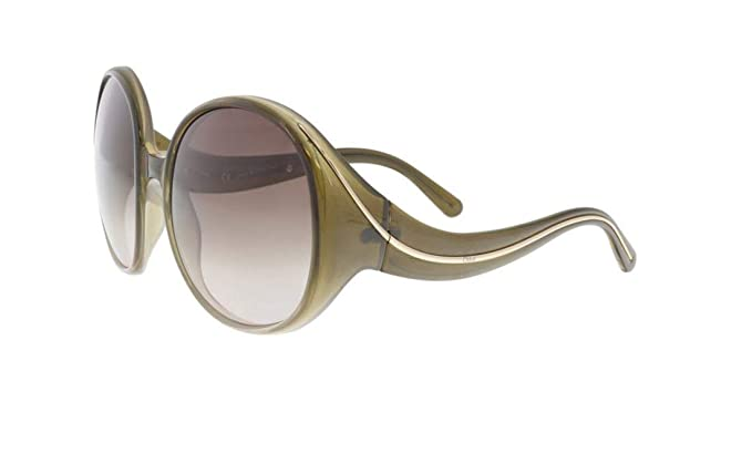 a52fbb7a90 Image Unavailable. Image not available for. Color  Chloe CE727S 306  Gradient Olive Cat Eye Sunglasses