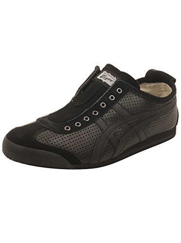 black Asics Mexico 66 Black Tiger Onitsuka Slip Unisex on 8qa5ZnU