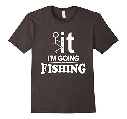 Mens I'm Going Fishing T-Shirt Large -
