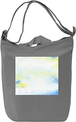 Watercolor Texture Borsa Giornaliera Canvas Canvas Day Bag| 100% Premium Cotton Canvas| DTG Printing|