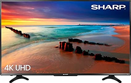 c2880ed7a3a Image Unavailable. Image not available for. Color  Sharp 50 quot  LED 2160p Smart  4K Ultra HD TV Roku TV