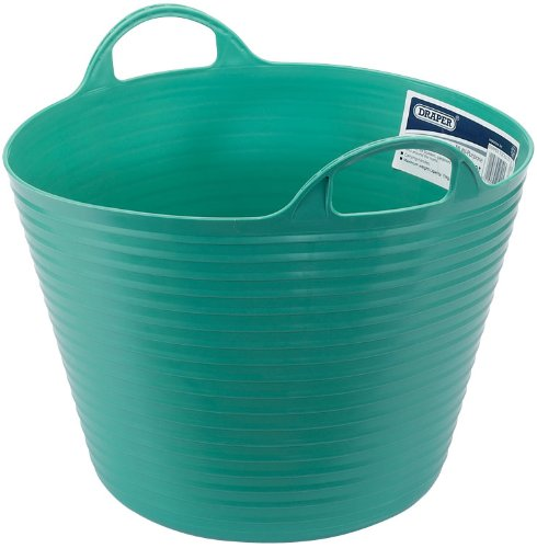 1 opinioni per Draper 49102- Secchio universale flessibile, 28 litri, colore: Verde