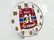 FanPlastic Carey Price 31 'Lets Go Habs' Desktop Clock - Canadian Hockey League Legends Ed