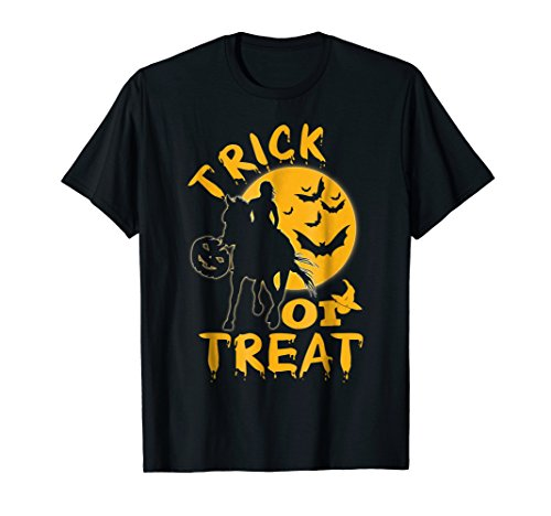 Trick Or Treat Horse Girl Halloween Costume Idea Gift Shirt for $<!--$14.99-->