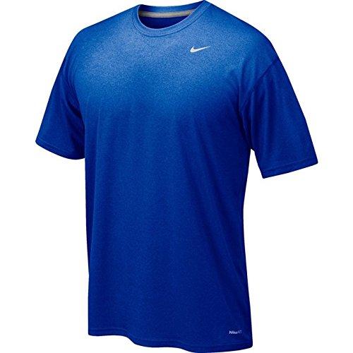 Nike Athletic Active Dri-Fit camiseta de manga corta Royal