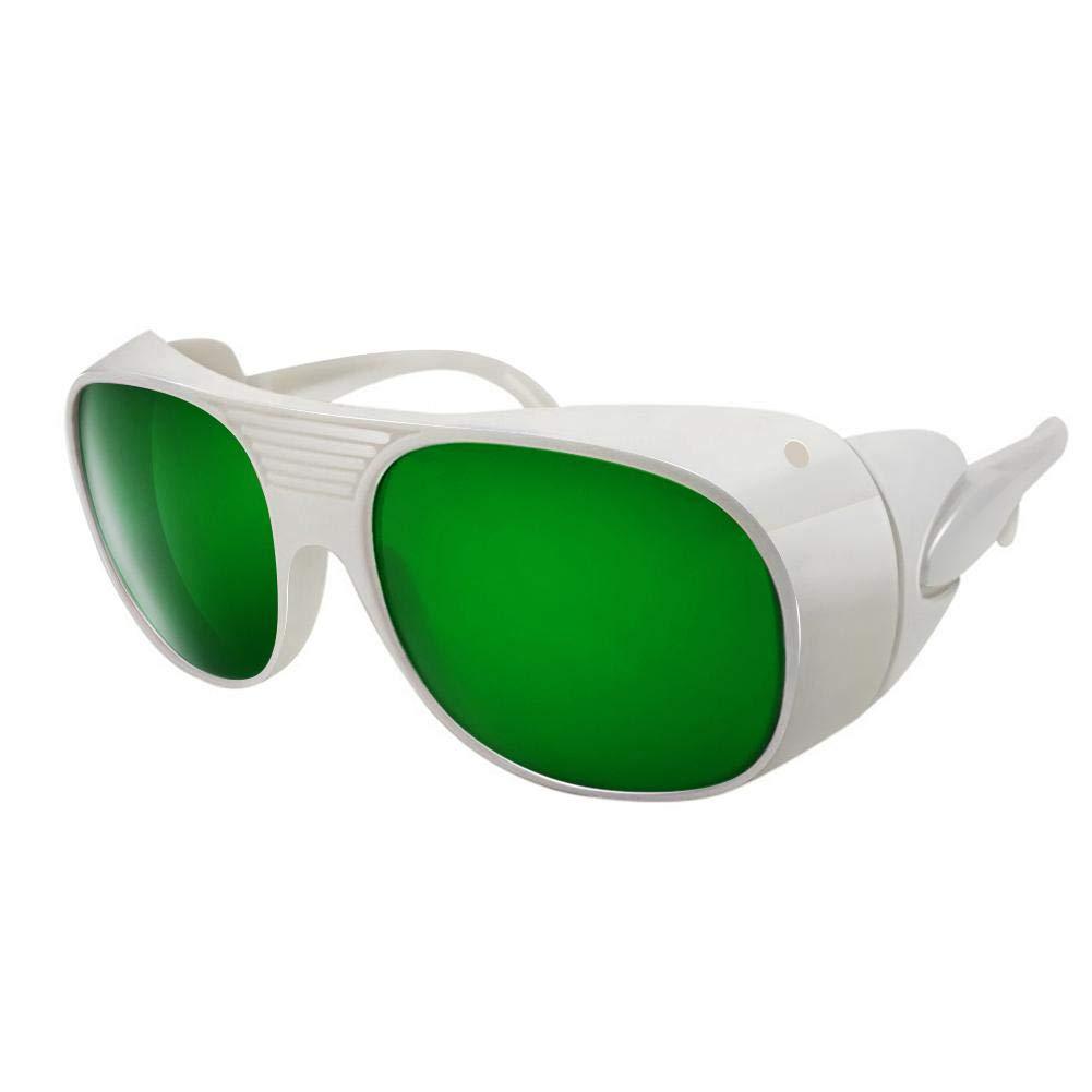 Rocomoco IPL Gafas de seguridad 400-1200nm Gafas de protección Gafas de seguridad, Gafas de protección UV, Gafas de protección para depilación