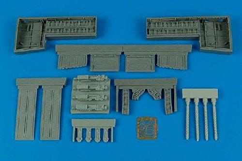 Aires 1:32 P-51 B/C Mustang Gun Bay for  - Mustang Gun Bay Shopping Results