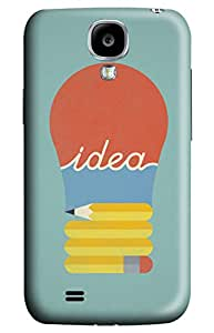 CaseandHome Vintage Idea Design PC Material Hard Case For Samsung Galaxy S4 I9500