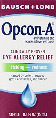 Opcon-A Eye Drops 15 ml (Pack of 3)