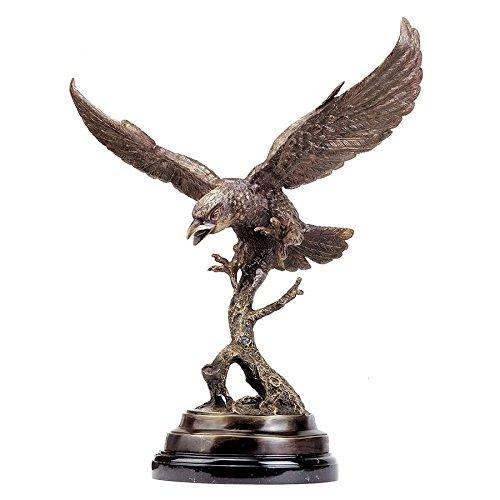 Design Toscano Eagle in Flight Cast Bronze Statue