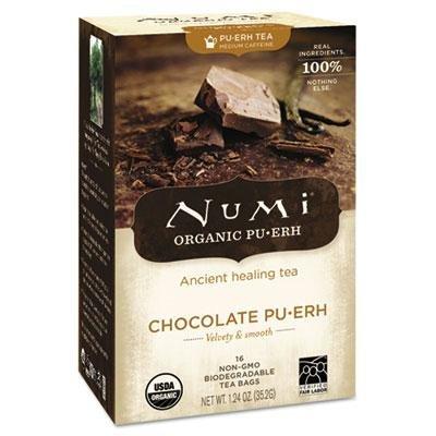 Numi – 3 Pack – Organic Tea Chocolate Puerh 16/Box