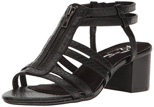 Range Dress Black Aerosoles A2 by Sandal Women Snake Mid HOqq4aWgz