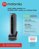 MOTOROLA MT7711 24X8 Cable Modem/Router with Two