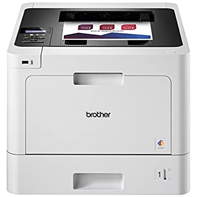 Brother Printer HLL8260CDW Business Color Laser Printer with Duplex Printing and Wireless Networking, Amazon Dash Replenishment Enabled with ink cartridge