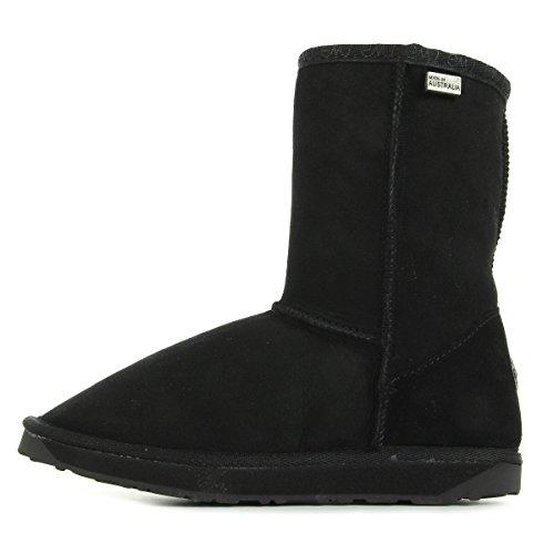 Emu Signore Platinum Stinger Lo Short Boots Noir