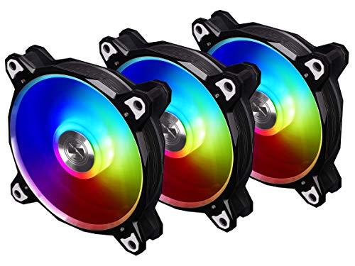 Lian Li Bora Digital BR DIGITAL-3R S Black RGB Cooling Fan
