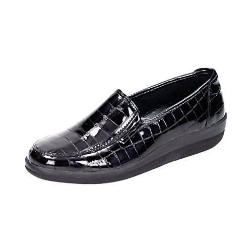 schwarz Damen 1 Comfortabel Slipper Halbschuhe 941355 wv7W4xFq