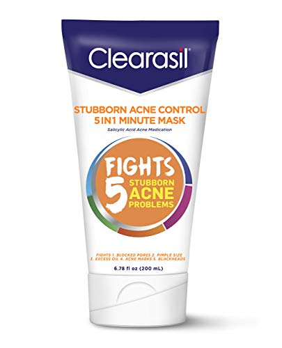 Clearasil Stubborn Acne Control One Minute Mask, 6.78 oz. Pack of 12