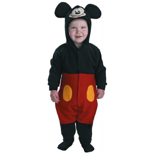 Mickey Mouse INFANT Costume - Baby (List Of Disney Halloween Movies)
