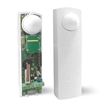 Sensor de Doble Tecnología Para puertas y ventanas Efecto cortina AMC DT16: Amazon.es: Electrónica