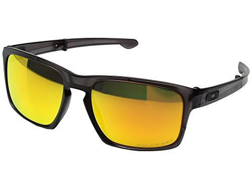 Oakley  Men's MPH Sliver F Matte Grey Ink W/ Fire Iridium Polarized - Iridium Polarized Oakley Fire