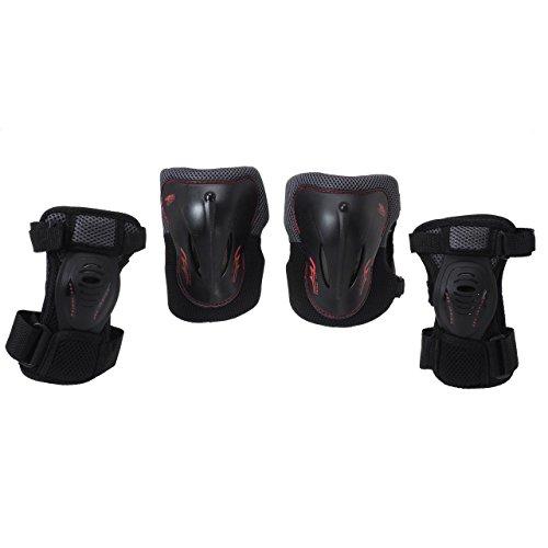 Fila roller - Pack 2 zip noir - Kit protection roller skateboard