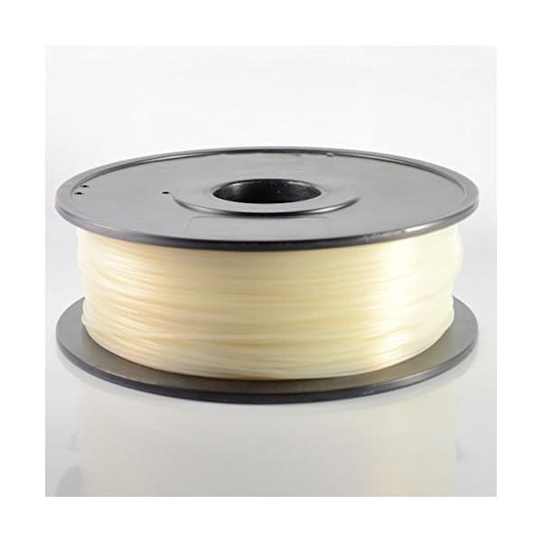 Natural ABS 3D Printer Filament 1.75mm