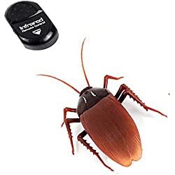 NiGHT LiONS TECH ® Novelty Emulational Remote Control cockroach Animal Toy Funny toy For Christmas