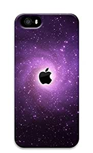 iPhone 5s Case, iPhone 5s Cases - Space apple LOGO PC Polycarbonate Hard Case Back Cover for iPhone 5s