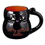 Grasslands Road Halloween - Black Cat Mug - 469401