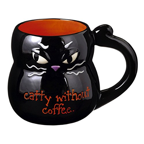Grasslands Road Halloween - Black Cat Mug - 469401]()