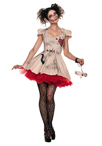 Womens Plus Size Voodoo Doll Costume 5X ()
