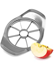 Apple Cutter, Apple Slicer Corer, Non-Slip Handle, Sharp Stainless Steel Blade Makes Cutting Very Easy and Suitable for Portable Kitchen Tools